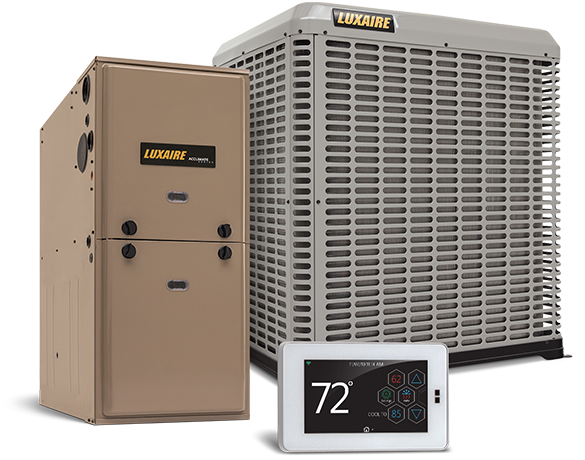 Luxaire Residential Gas Furnaces